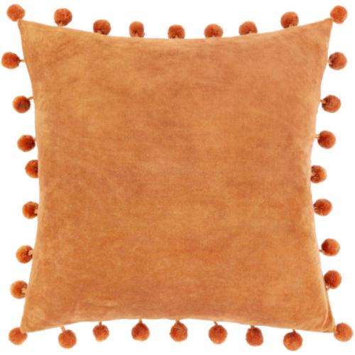 Serengeti Burnt Orange 20 x 20 Inch Throw Pillow