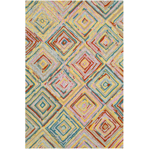 Serafina Multi-Color Rectangle 3 Ft. 3 In. x 5 Ft. 3 In. Rugs