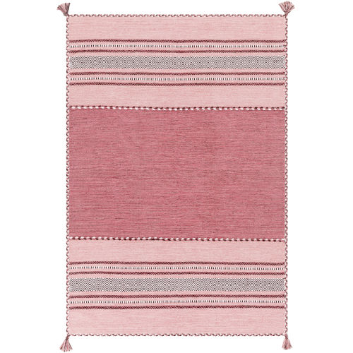 Trenza Bright Pink Rectangle Rugs