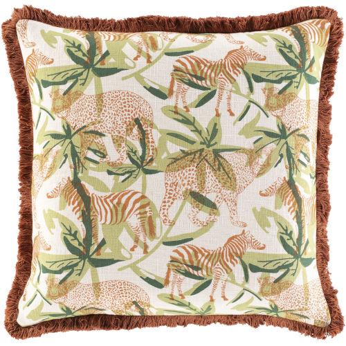 Tanzania Multi-Color 20-Inch Throw Pillow
