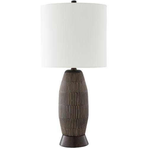 Vera Black One-Light Table Lamp
