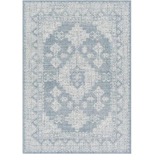 Veranda Dark Blue Traditional Rectangle Rug