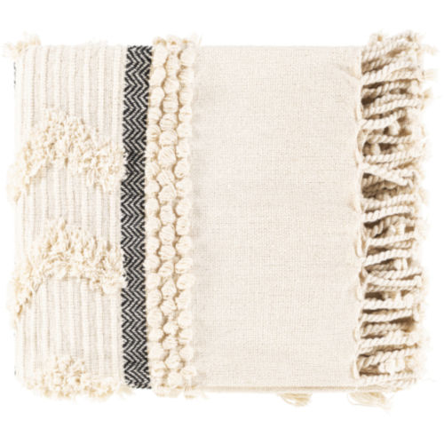 Vasant Ivory and Ink Throw