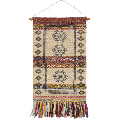 Zendaya Khaki 29-Inch Wall Hanging