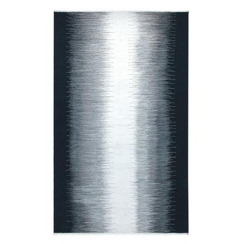 Daybreak Black Polyester Outdoor Area Rug