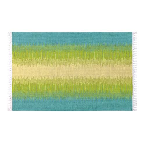 Daybreak Lake Polyester Rectangular: 2 Ft x 3 Ft Outdoor Area Rug