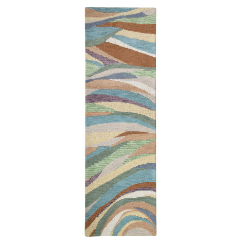 Desert Wind Multicolor Wool Rug