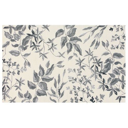 Fauna Cream Polypropylene Outdoor Area Rug