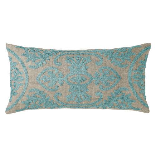 Lana Lake 24-Inch Linen Throw Pillow