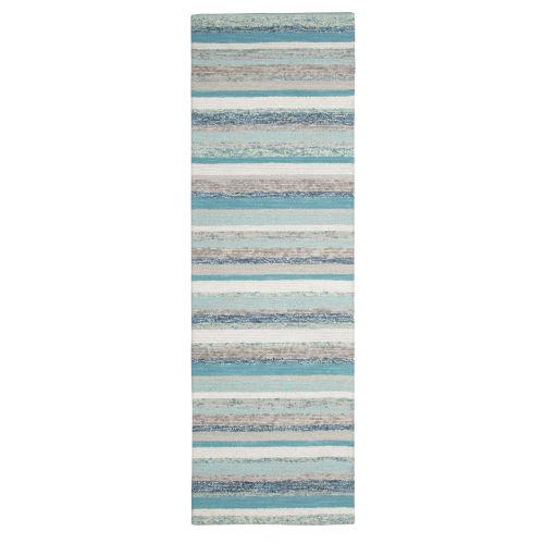 Fairfield Blue Wool Rug