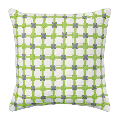 Starboard Lime 22 In. Throw Pillow with Down Insert