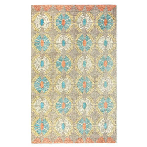 Company C Hadley Multicolor Rectangular: 2 Ft. x 3 Ft. Rug