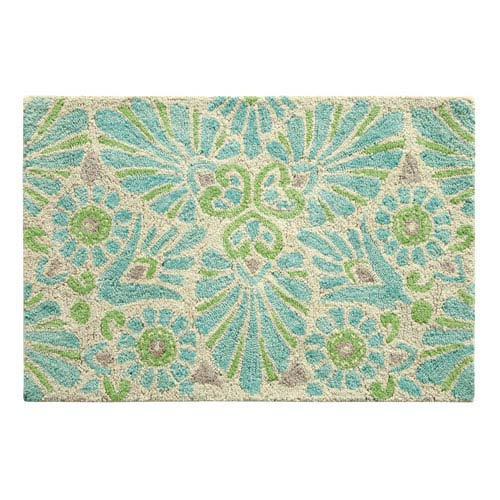 Company C Painted Medallion Lake Rectangular: 2 Ft. x 3 Ft. Rug