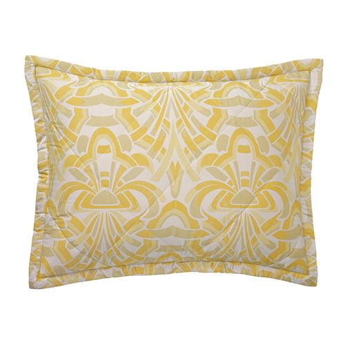 Company C Axelle Quilted Gold Standard Sham