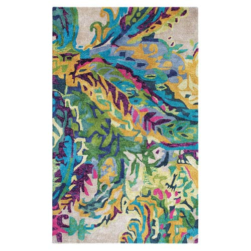 Galleria Multicolor Rectangular: 3 Ft. x 5 Ft. Rug
