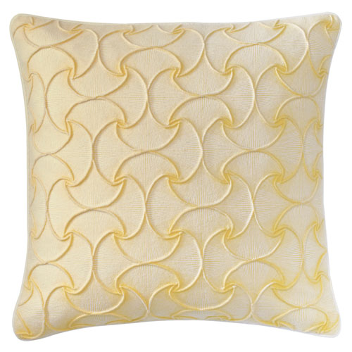 Company C DejaVu Sun 22 In. Throw Pillow with Down Insert