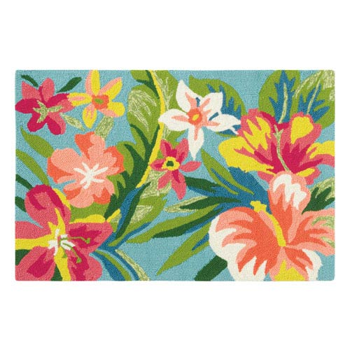 Mai Tai Multicolor Rectangular: 2 Ft. x 3 Ft. Indoor/Outdoor Rug