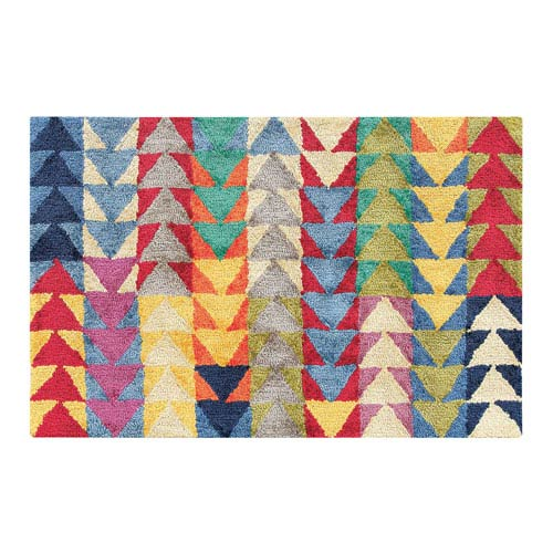 Company C Vintage Multicolor Rectangular: 2 Ft. x 3 Ft. Rug