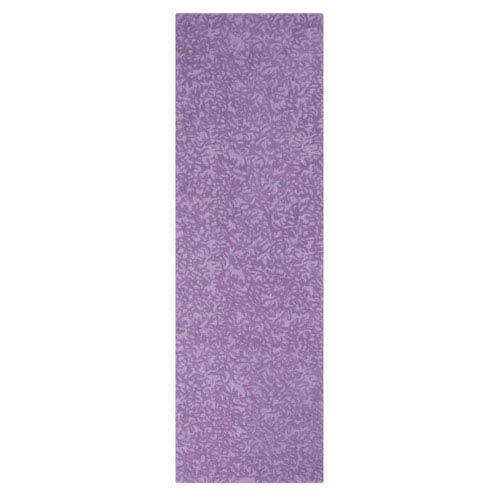 Crackle Lavender Runner: 2 Ft. 6 In. x 8 Ft. Rug