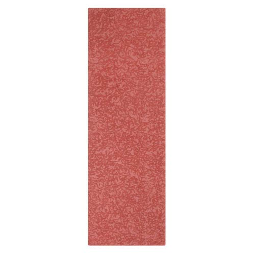 Crackle Newport Red Runner: 2 Ft. 6 In. x 8 Ft. Rug