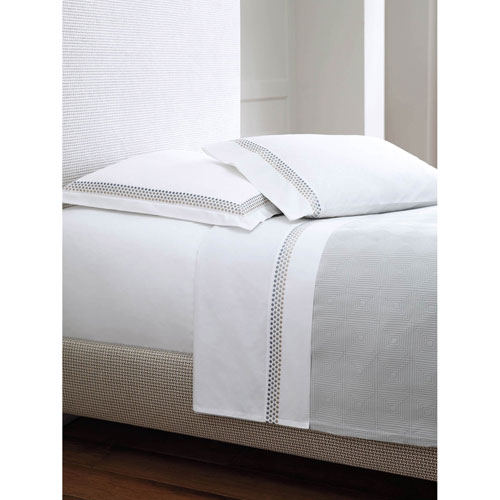 Company C Jewels Platinum Standard Pillow Case Pair