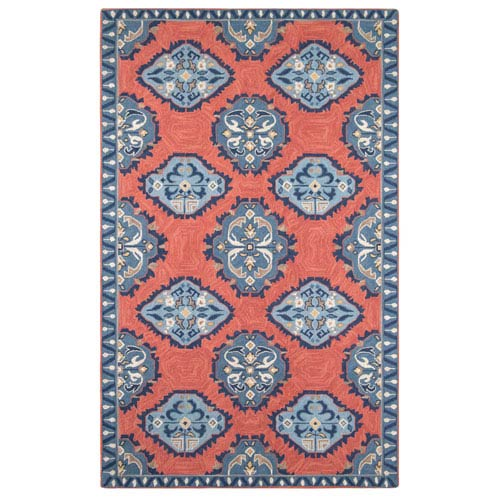 Old Glory Newport Red Rectangular: 3 Ft. x 5 Ft. Rug