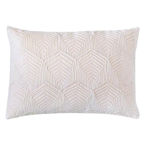 Sloan Velvet Oyester 14 x 20 In. Pillow
