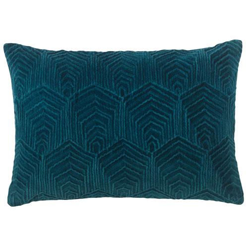 Sloan Velvet Teal 14 x 20 In. Pillow