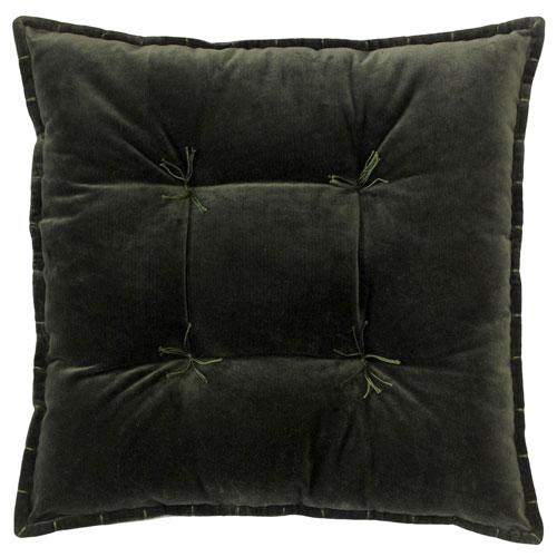 Company C Talia Velvet Loden 20 In. Pillow