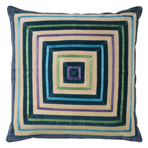 Company C Zoe Teal 22 In Pillow