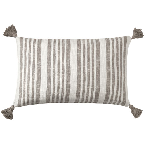 Company C Flagstone Pewter 16 x 26 In. Throw Pillow