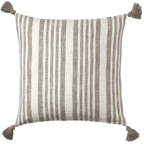 Flagstone Pewter 22 In. Throw Pillow