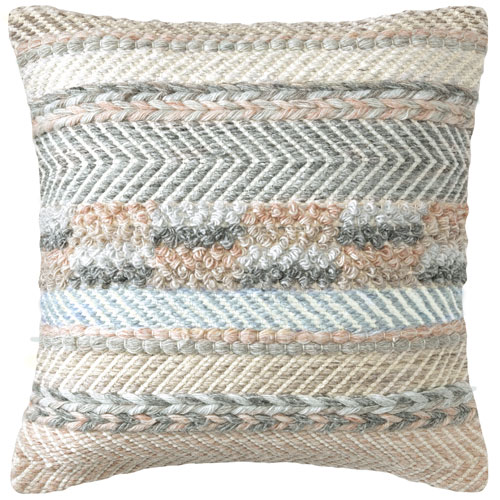 Sand Dune Driftwood 18 In. Throw Pillow