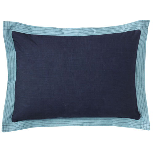 Ainsley Navy 14 x 20 In. Throw Pillow