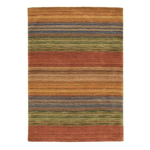 Brushstroke Multicolor Rectangular: 3 Ft. x 5 Ft. Rug