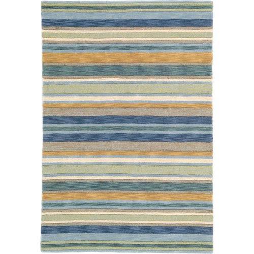 Company C Sheffield Stripe Seagrass Sample Swatch