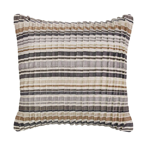 Company C Moonstone Platinum 18 In. Throw Pillow with Down Insert
