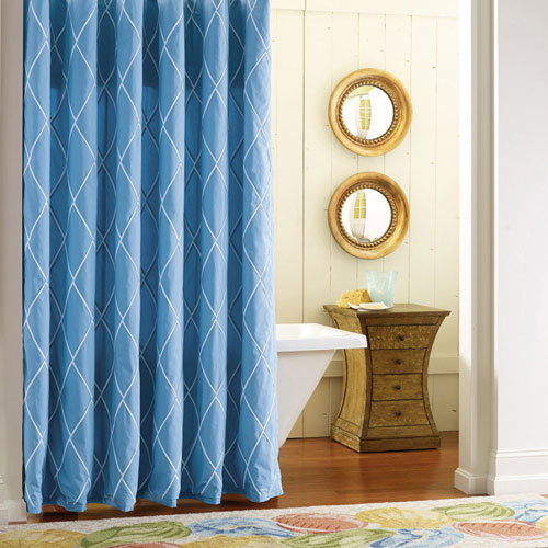 Calypso Driftwood 72 In. Shower Curtain