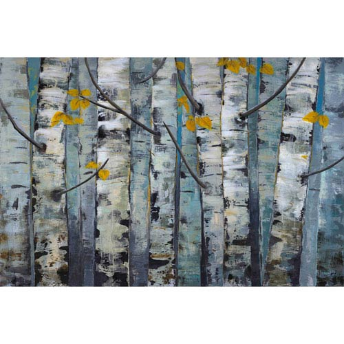 Marmont Hill Touched By Gold I 36 x 24 In. Painting Print on Wrapped Canvas