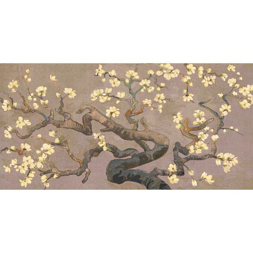 Marmont Hill Brisbane Botanic Branches II 24 x 12 In. Painting Print on Wrapped Canvas