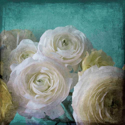Marmont Hill Yellow Ranunculus B 32 x 32 In. Painting Print on Wrapped Canvas