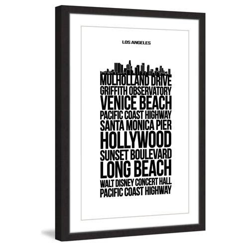 Marmont Hill Mulholld Drive 24 x 36 In. Framed Painting Print