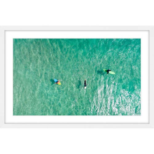 Marmont Hill Calm Waters 36 x 24 In. Framed Painting Print