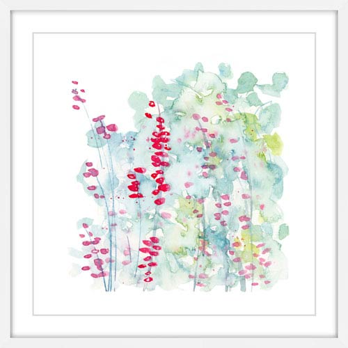 Marmont Hill Winter Berries 12 x 12 In. Framed Painting Print