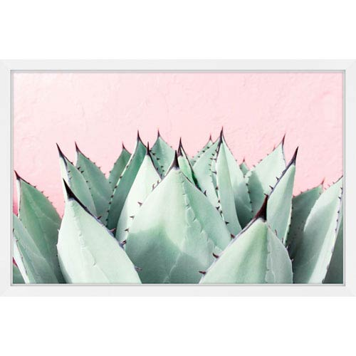 Marmont Hill Sweet Succulents 30 x 20 In. Framed Painting Print
