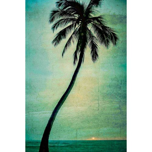 Marmont Hill Lone Palm 24 x 36 In. Painting Print on Wrapped Canvas