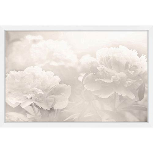 Marmont Hill Peony 30 x 20 In. Framed Painting Print