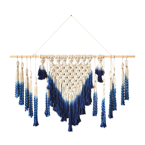 Extended Macrame Wall Hanging