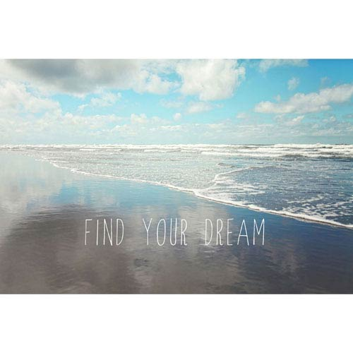 Marmont Hill Find Your Dream 24 x 16 In. Painting Print on Wrapped Canvas