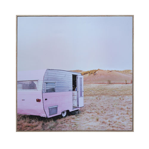 Caravan Pink Wall Decor